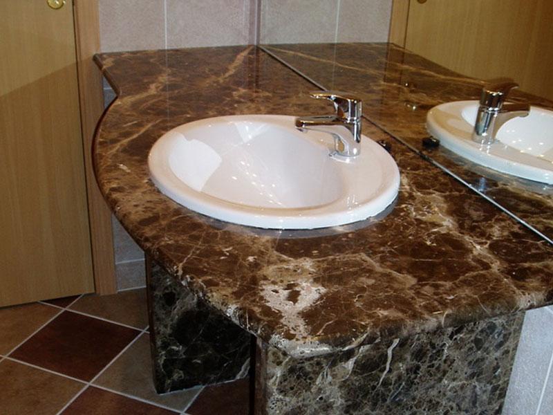 Гранитная столешница санузел круглая столешница для ванной